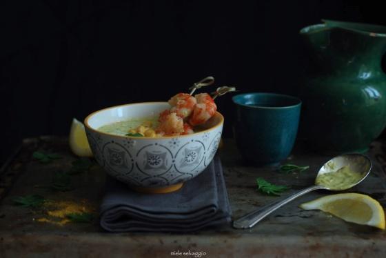 crema di zucchine e mais 2